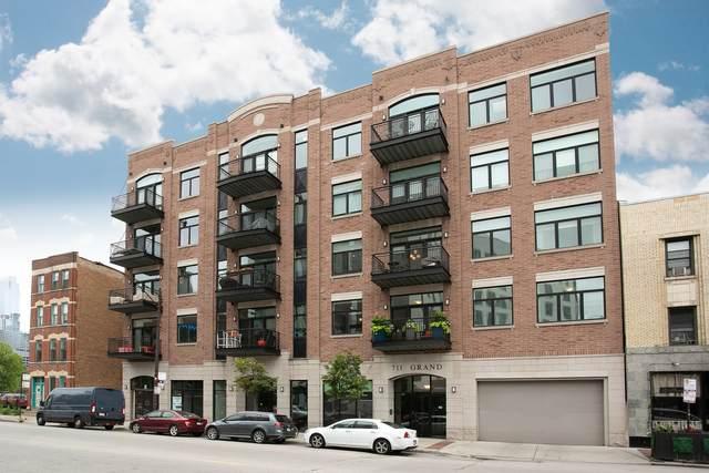 711 W Grand Avenue #404, Chicago, IL 60654 (MLS #11164999) :: Lux Home Chicago