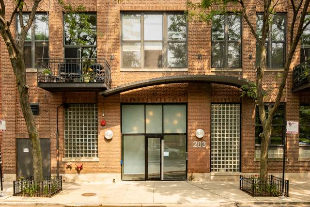 203 S Sangamon Street #204, Chicago, IL 60607 (MLS #11165897) :: The Wexler Group at Keller Williams Preferred Realty