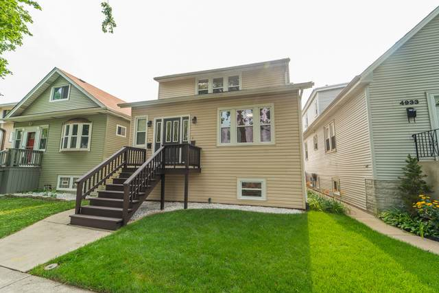 4937 N Moody Avenue, Chicago, IL 60630 (MLS #11166448) :: O'Neil Property Group