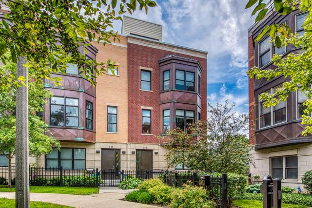 739 W 15th Street, Chicago, IL 60607 (MLS #11168369) :: Jacqui Miller Homes