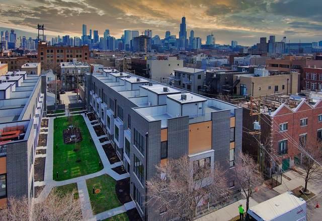 525 N Bishop Street #12, Chicago, IL 60642 (MLS #11168449) :: Jacqui Miller Homes