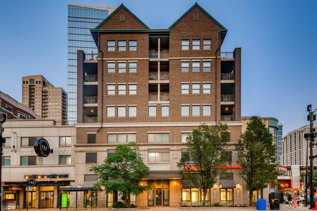 1155 S State Street #600, Chicago, IL 60605 (MLS #11169197) :: Lewke Partners - Keller Williams Success Realty