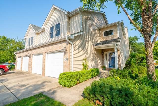407 Flanagan Circle B, Minooka, IL 60447 (MLS #11169354) :: O'Neil Property Group