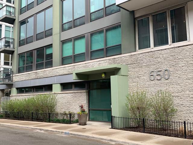 650 W Wayman Street #708, Chicago, IL 60661 (MLS #11169453) :: Helen Oliveri Real Estate