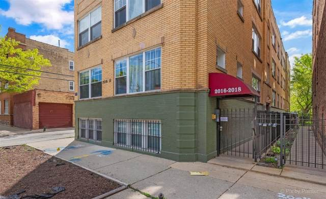 2018 N Spaulding Avenue 2-W, Chicago, IL 60647 (MLS #11170542) :: Ani Real Estate