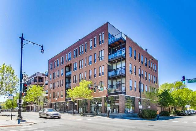 1610 S Halsted Street #504, Chicago, IL 60608 (MLS #11170952) :: Lewke Partners - Keller Williams Success Realty