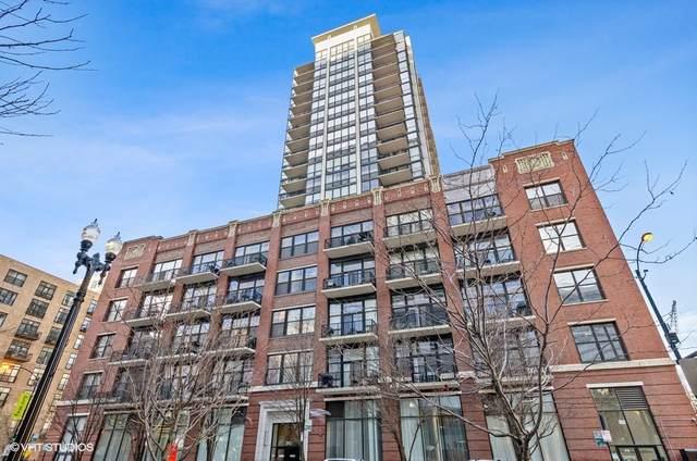 210 S Desplaines Street #502, Chicago, IL 60661 (MLS #11170998) :: Lux Home Chicago