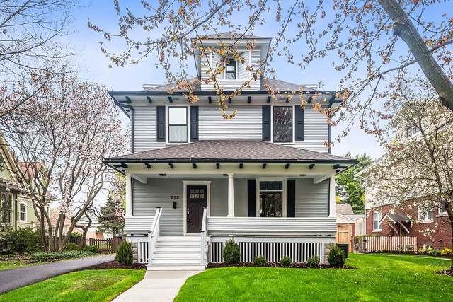 218 N Columbia Street, Naperville, IL 60540 (MLS #11171710) :: The Wexler Group at Keller Williams Preferred Realty