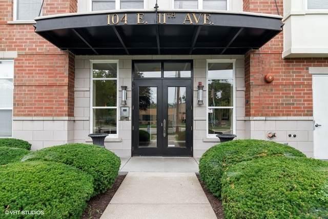 104 E 11th Avenue #201, Naperville, IL 60563 (MLS #11171905) :: The Wexler Group at Keller Williams Preferred Realty