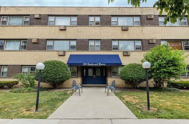 222 Washington Boulevard #105, Oak Park, IL 60302 (MLS #11173357) :: Angela Walker Homes Real Estate Group