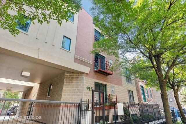 915 N Racine Avenue 2SW, Chicago, IL 60642 (MLS #11173475) :: John Lyons Real Estate