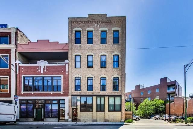 1014 N Milwaukee Avenue #4, Chicago, IL 60642 (MLS #11174439) :: Lewke Partners - Keller Williams Success Realty