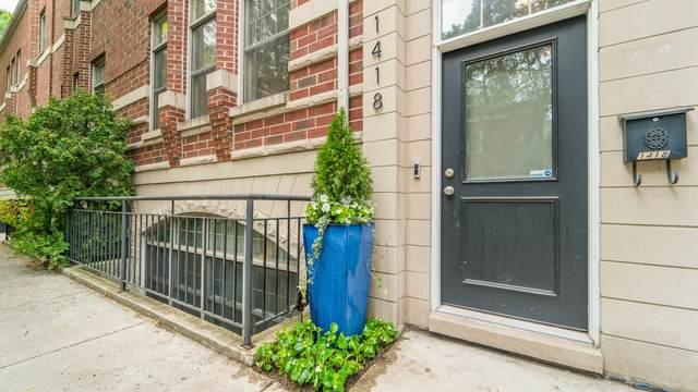 1418 W Waveland Avenue, Chicago, IL 60613 (MLS #11175195) :: John Lyons Real Estate