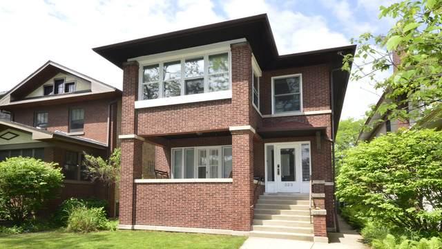 323 S Taylor Avenue, Oak Park, IL 60302 (MLS #11176936) :: Angela Walker Homes Real Estate Group