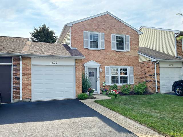 1477 Oxford Street, Carol Stream, IL 60188 (MLS #11178013) :: Angela Walker Homes Real Estate Group