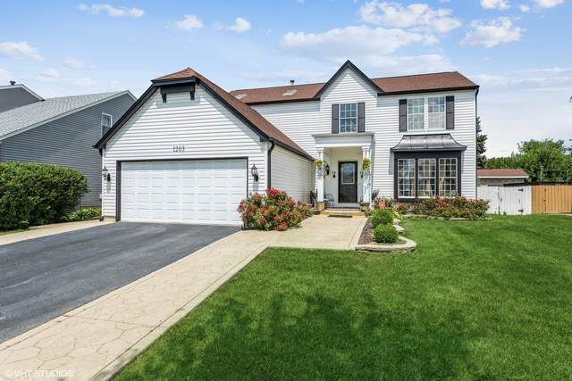 1203 Harwich Drive, Carol Stream, IL 60188 (MLS #11187880) :: The Wexler Group at Keller Williams Preferred Realty