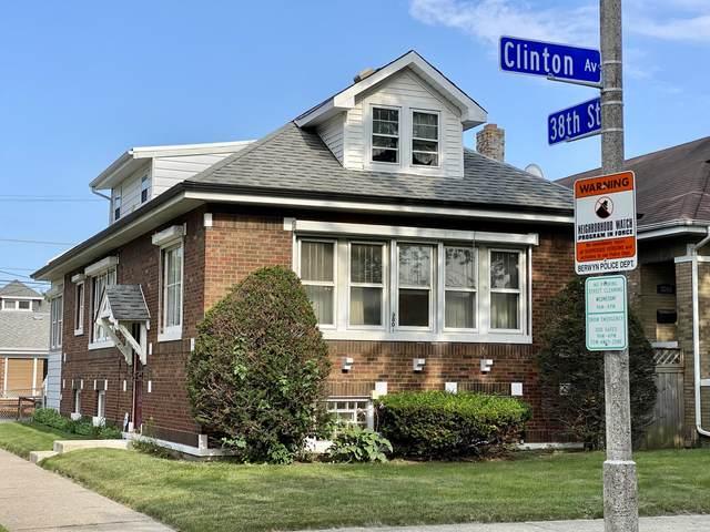 3801 Clinton Avenue, Berwyn, IL 60402 (MLS #11188416) :: The Spaniak Team