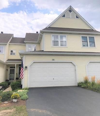 55 Tanglewood Drive #55, Glen Ellyn, IL 60137 (MLS #11198359) :: John Lyons Real Estate