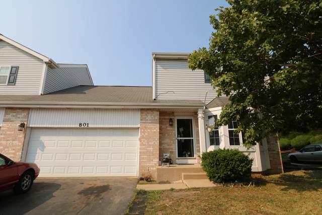 801 Harris Lane #805, Romeoville, IL 60446 (MLS #11206569) :: John Lyons Real Estate