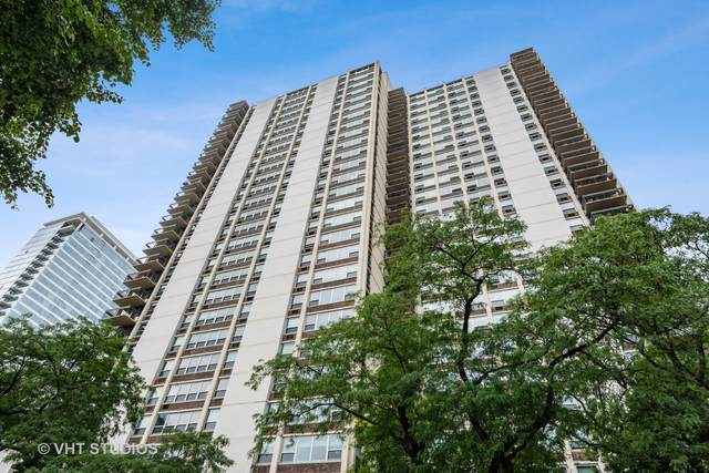 1255 N Sandburg Terrace 604-606, Chicago, IL 60610 (MLS #11211326) :: The Spaniak Team