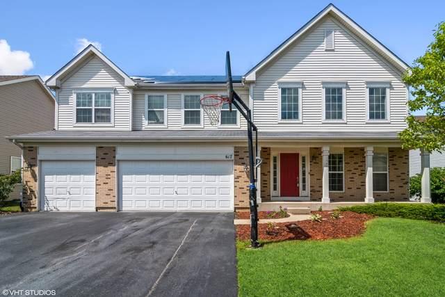 617 Mansfield Way, Oswego, IL 60543 (MLS #11215332) :: John Lyons Real Estate