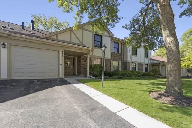 545 Williamsburg Court B2, Wheeling, IL 60090 (MLS #11218335) :: John Lyons Real Estate