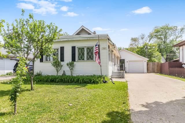343 N Maple Avenue, Wood Dale, IL 60191 (MLS #11218452) :: Lewke Partners - Keller Williams Success Realty