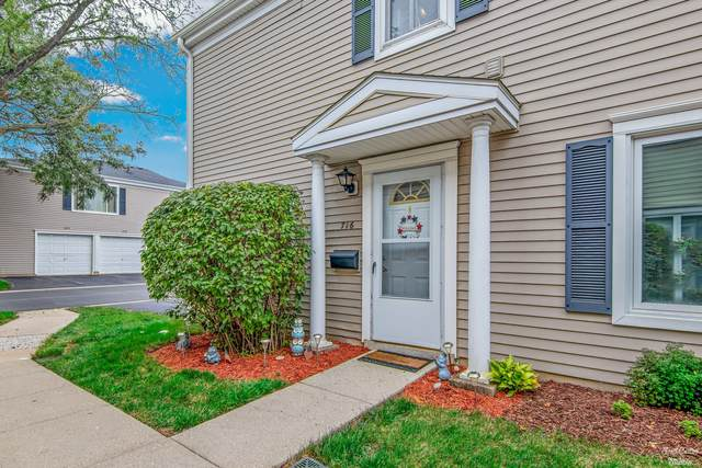 716 E Old Willow Road #716, Prospect Heights, IL 60070 (MLS #11219259) :: Littlefield Group
