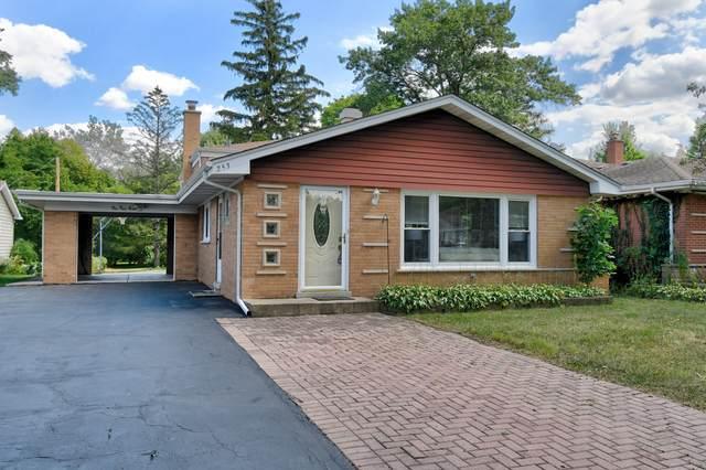 253 Woodstock Avenue, Clarendon Hills, IL 60514 (MLS #11219715) :: Lewke Partners - Keller Williams Success Realty