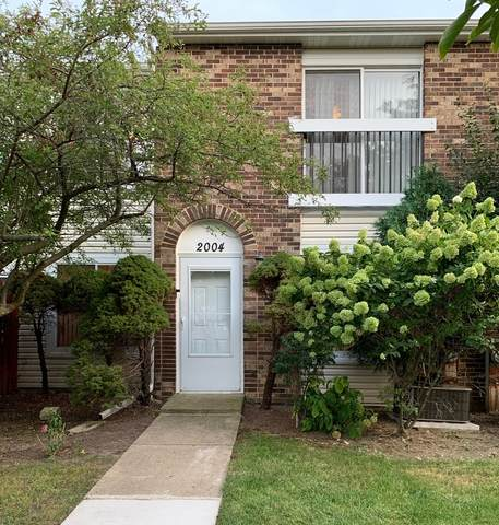 2004 Bayberry Lane #2004, Hoffman Estates, IL 60194 (MLS #11219863) :: John Lyons Real Estate