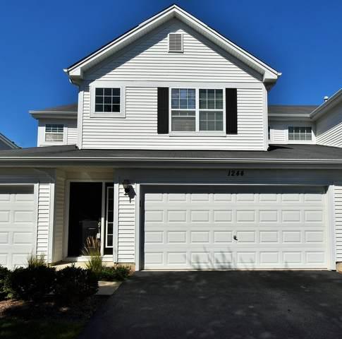 1244 Chesterton Drive #1244, Fox Lake, IL 60020 (MLS #11223034) :: John Lyons Real Estate