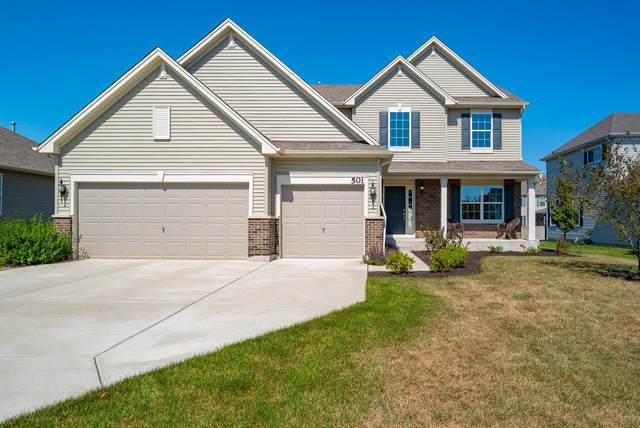 501 Herath Lane, Shorewood, IL 60404 (MLS #11224674) :: The Wexler Group at Keller Williams Preferred Realty