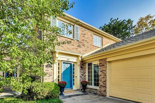 45 The Court Of Cobblestone, Northbrook, IL 60062 (MLS #11225609) :: Littlefield Group