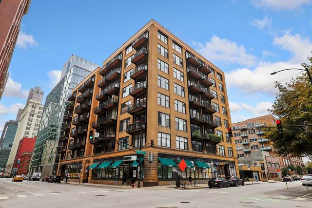 625 W Jackson Boulevard #608, Chicago, IL 60661 (MLS #11225705) :: BN Homes Group