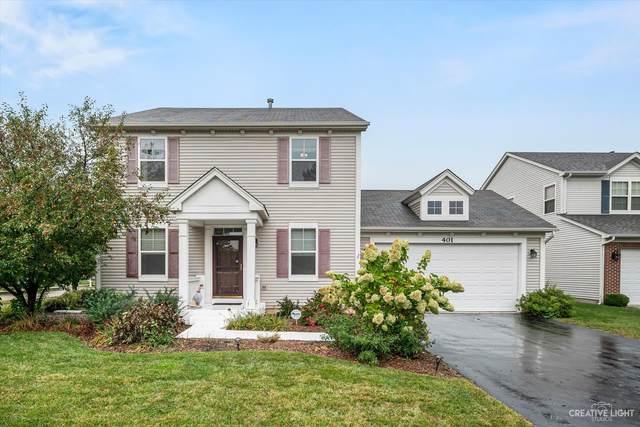 401 Frankfort Avenue, Oswego, IL 60543 (MLS #11226320) :: John Lyons Real Estate