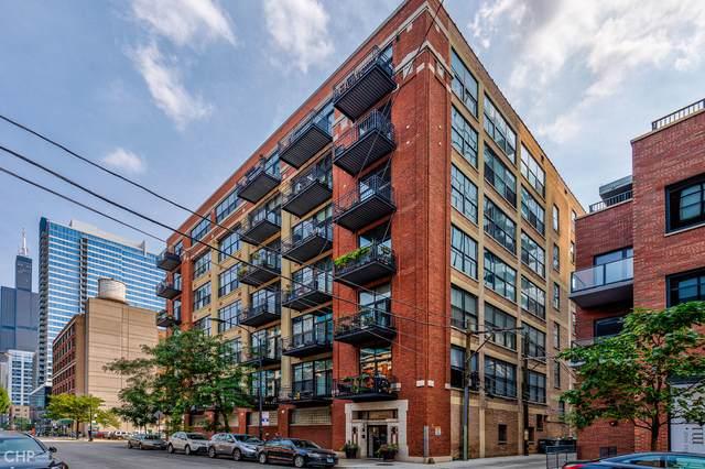 843 W Adams Street #711, Chicago, IL 60607 (MLS #11226767) :: John Lyons Real Estate