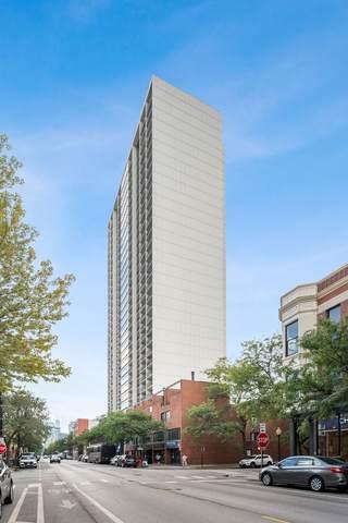 1636 N Wells Street N #3008, Chicago, IL 60614 (MLS #11226918) :: John Lyons Real Estate