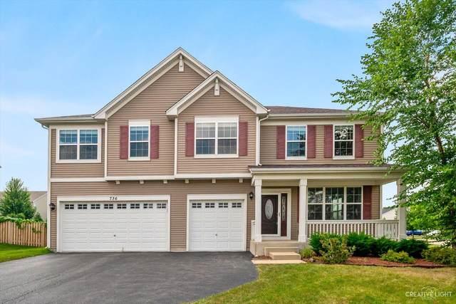 736 Millersburg Street, Oswego, IL 60543 (MLS #11227142) :: John Lyons Real Estate