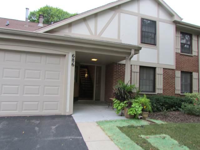 686 Scanlon Drive A1, Wheeling, IL 60090 (MLS #11227160) :: John Lyons Real Estate