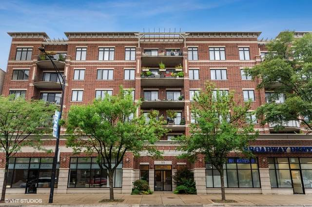 5858 N Broadway Street #401, Chicago, IL 60660 (MLS #11227334) :: BN Homes Group