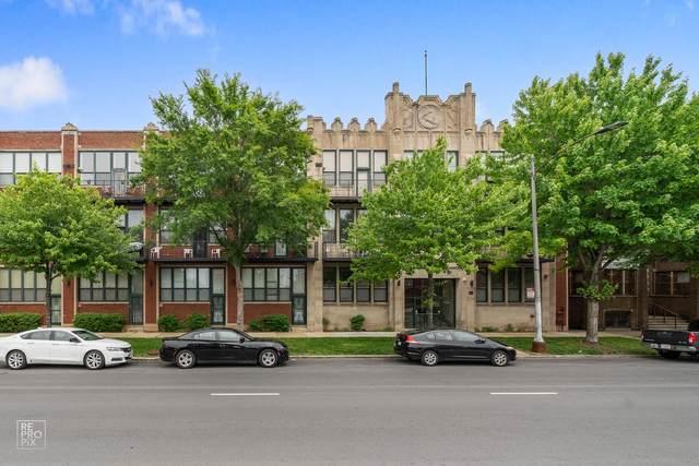 4101 S Michigan Avenue #305, Chicago, IL 60653 (MLS #11227574) :: BN Homes Group