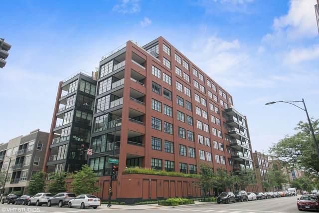 1109 W Washington Boulevard 5D, Chicago, IL 60607 (MLS #11228413) :: BN Homes Group