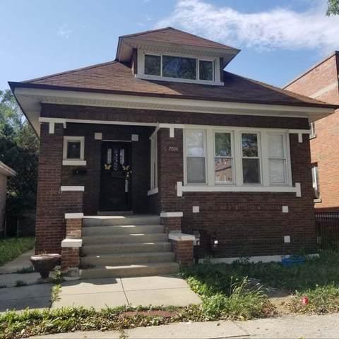 7034 S Washtenaw Avenue, Chicago, IL 60629 (MLS #11229587) :: Suburban Life Realty