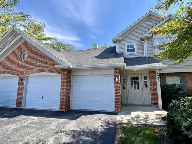 2485 Charleston Drive #2, Schaumburg, IL 60193 (MLS #11230570) :: John Lyons Real Estate
