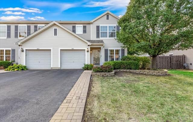 985 W Savannah Drive, Romeoville, IL 60446 (MLS #11231430) :: Littlefield Group