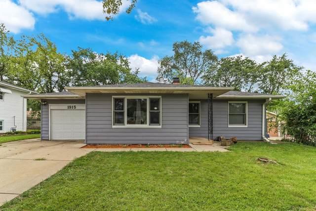 1915 Evergreen Avenue, Hanover Park, IL 60133 (MLS #11232321) :: John Lyons Real Estate