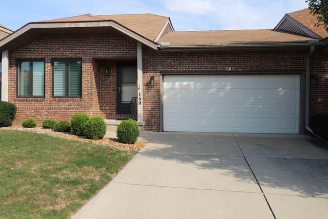 160 Manor Circle, Bloomington, IL 61704 (MLS #11234278) :: Littlefield Group