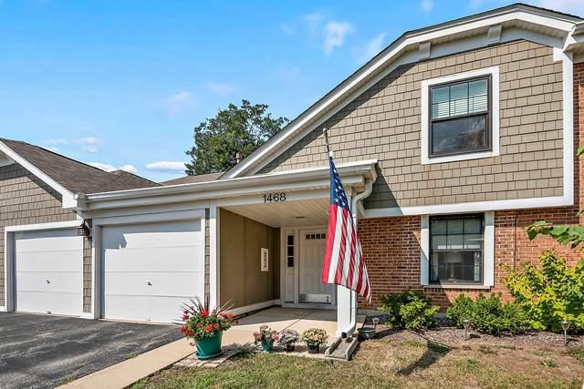 1468 Williamsburg Drive B2, Schaumburg, IL 60193 (MLS #11234683) :: Littlefield Group