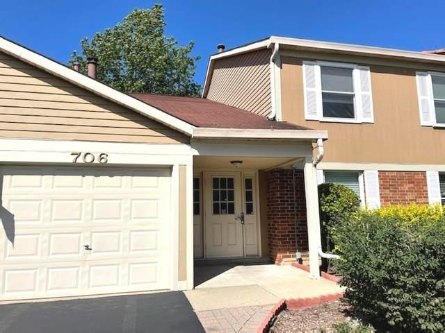 704 N Deer Run Drive #704, Palatine, IL 60067 (MLS #11236071) :: Littlefield Group
