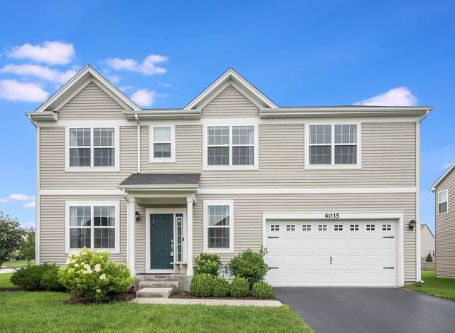 4035 Hunt Club Drive, Oswego, IL 60543 (MLS #11237354) :: The Wexler Group at Keller Williams Preferred Realty